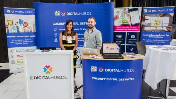 DIGITALHUB.de auf dem Cloud Unternehmertag