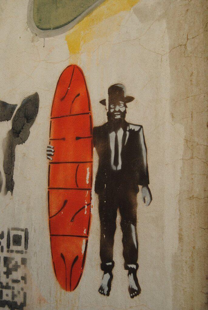 Tel Aviv Wandgemälde