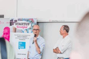Spannende Gründergeschichten beim STARTUP Breakfast