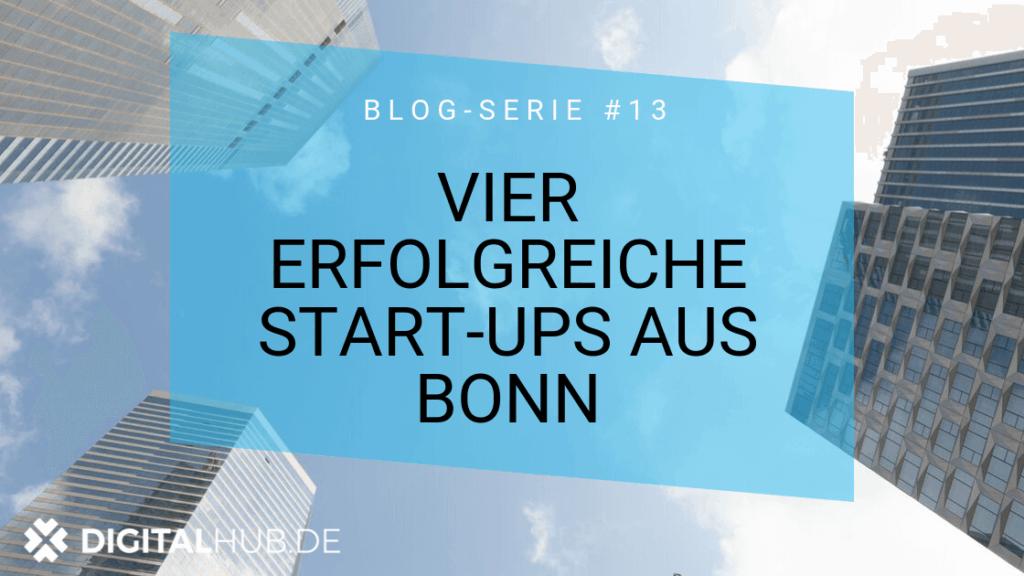 4 erfolgreiche Start-ups aus Bonn