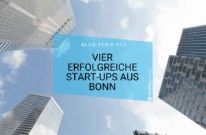 Vier erfolgreiche Start-ups aus Bonn