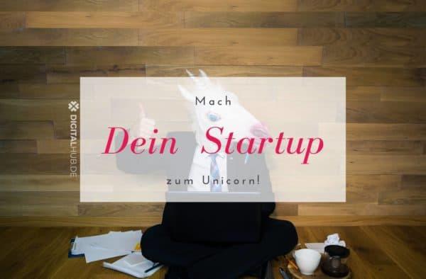 Mach dein Startup zum Unicorn