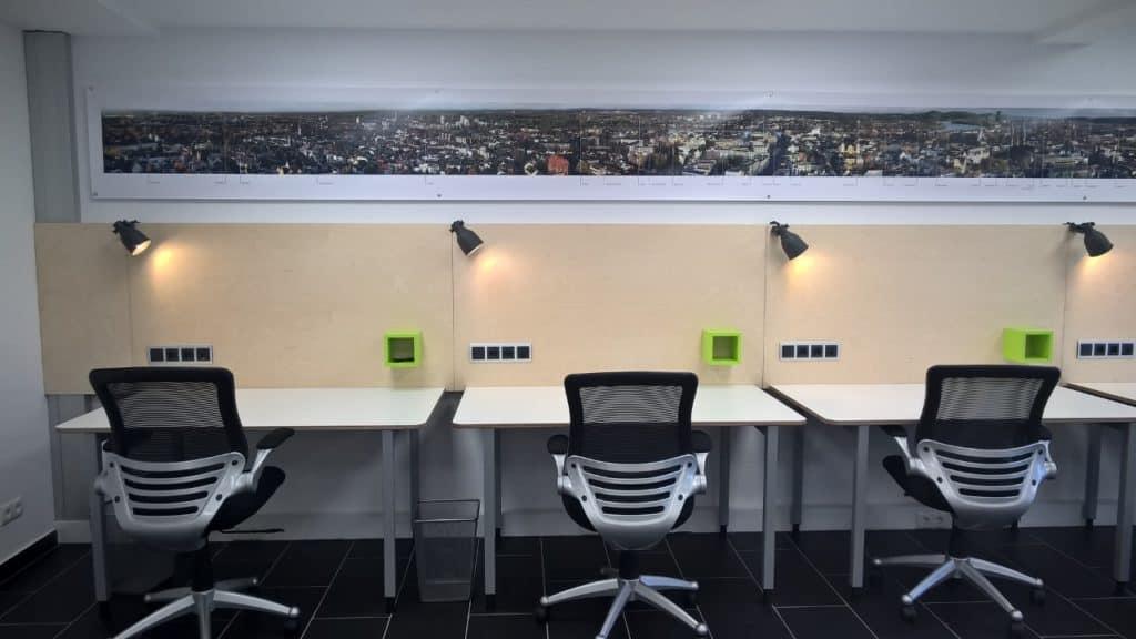 Flexible Arbeitsplätze für Selbstständige, Freiberufler und Start-ups