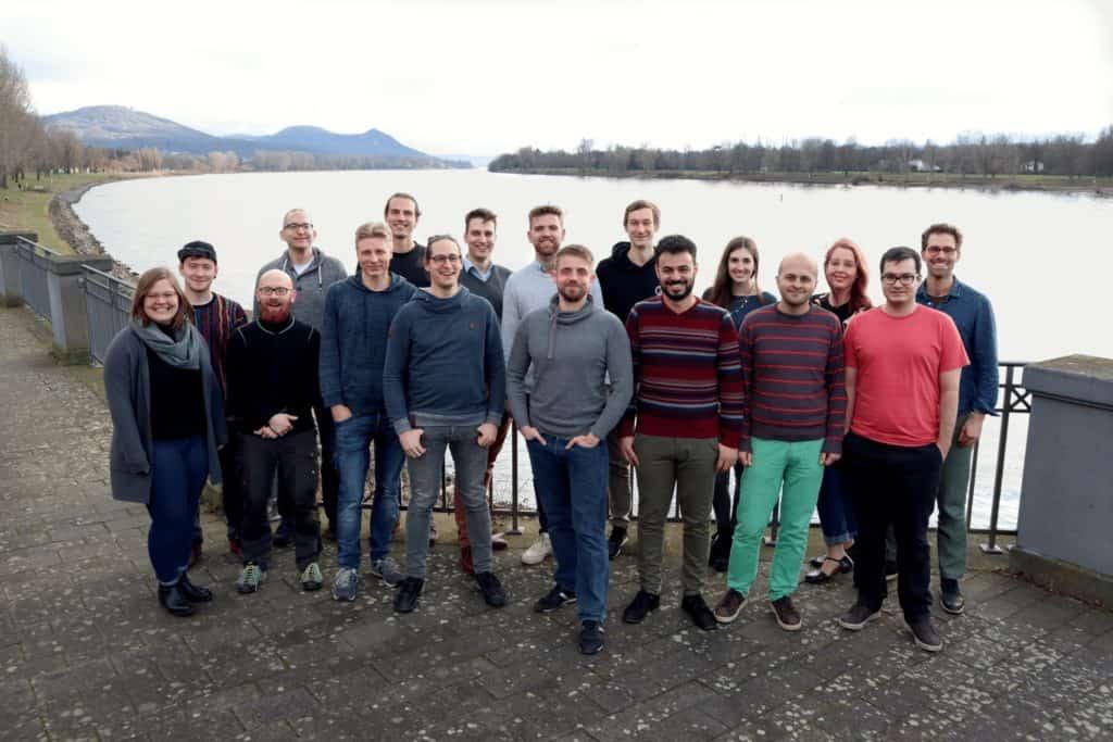 Gesamtes Code Intelligence GmbH Team (Foto: Simon Hecht)