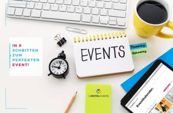 Eventplanung Tipps und Tricks DIGITALHUB.DE