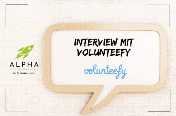 Interview volunteefy startup