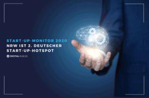 Start-up-Monitor 2020 – NRW ist zweiter deutscher Start-up-Hotspot