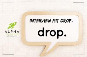 Startup Interview drop.