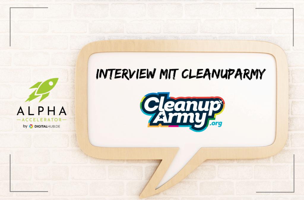 Startup Interview mit CleanupArmy
