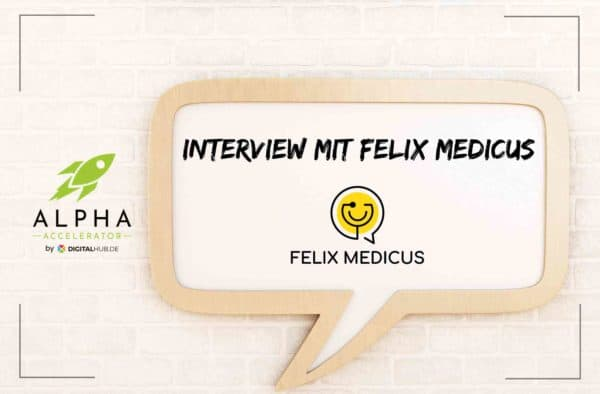 Interview Felix Medicus Startup