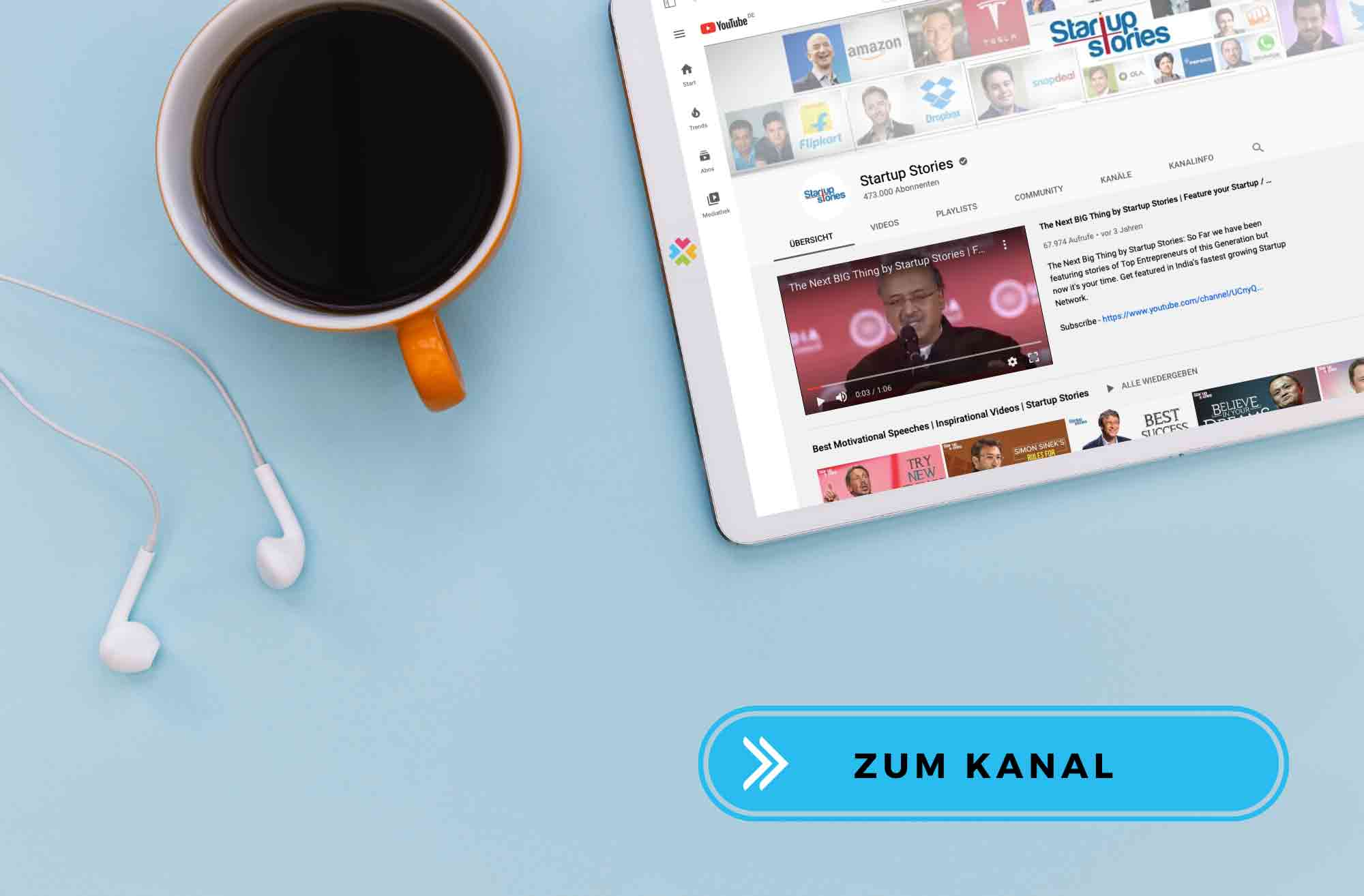DIGITALHUB.DE YouTube Startup Stories