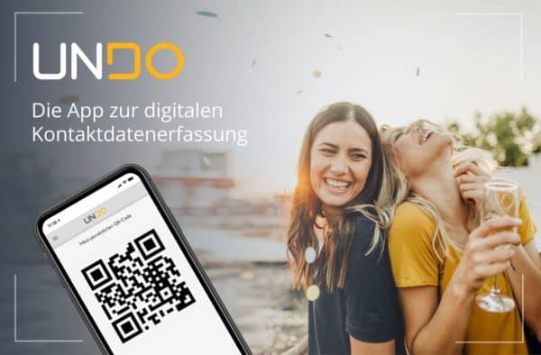 UNDO von Scopevisio: Die neue App zur digitalen Kontaktnachverfolgung