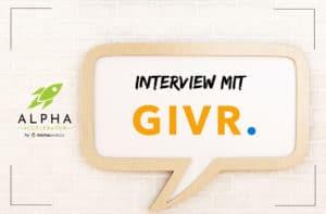 Startup Interview GIVR