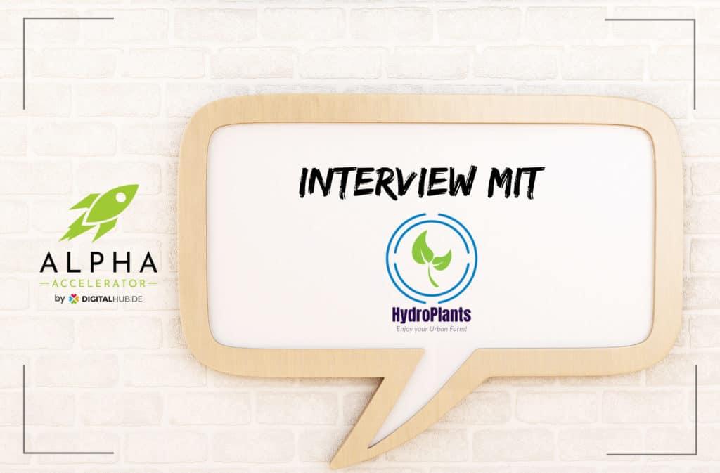 Startup Interview HydroPlants