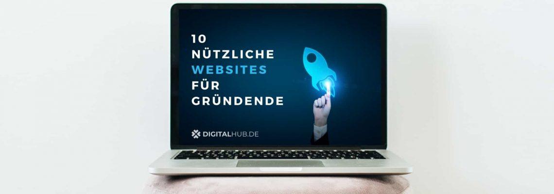 10 nützliche Websites für Gründer