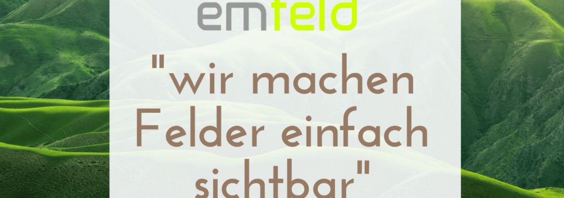 emfeld GmbH Blogbeitrag