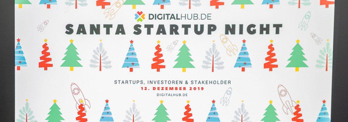 Santa Startup Night DIGITALHUB.DE