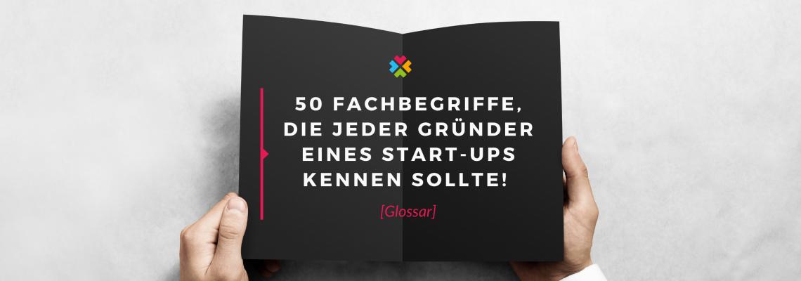 Glossar Gründerszene