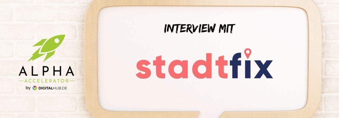 Startup Interview mit stadtfix