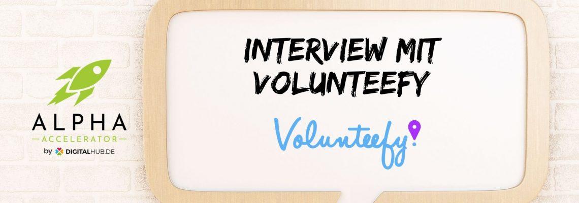 Startup-Interview Volunteefy
