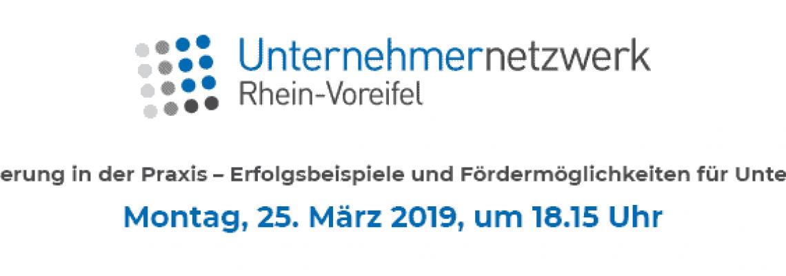 Unternehmernetzwerk Rhein-Voreifel Blog Titelbild