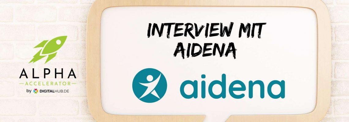Startup Interview mit aidena