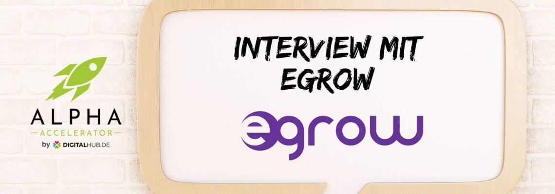 Interview mit egrow